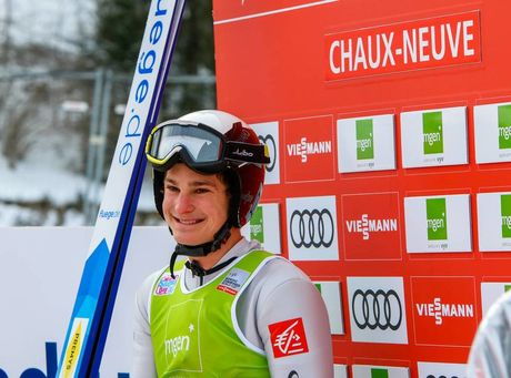 20.01.2019, Chaux-Neuve, France (FRA):Antoine Gerard (FRA) - FIS world cup nordic combined, individual gundersen HS118/15km, Chaux-Neuve (FRA). www.nordicfocus.com. © Volk/NordicFocus. Every downloaded picture is fee-liable.