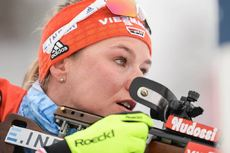16.03.2019, Oestersund, Sweden (SWE):Denise Herrmann (GER) - IBU world championships biathlon, relay women, Oestersund (SWE). www.nordicfocus.com. © Tumashov/NordicFocus. Every downloaded picture is fee-liable.