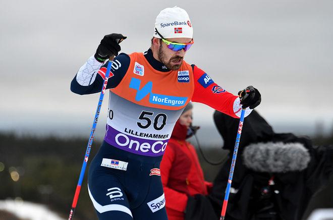 SONDRE TURVOLL FOSSLI är ute ur sjukhuset efter hjärtstansen men han vet inte om han kan fortsätta sin idrottskarriär. Foto/rights: ROLF ZETTERBERG/kekstock.com