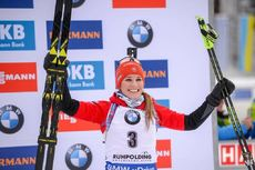 20.01.2019, Ruhpolding, Germany (GER):Paulina Fialkova (SVK) -  IBU world cup biathlon, mass women, Ruhpolding (GER). www.nordicfocus.com. © Tumashov/NordicFocus. Every downloaded picture is fee-liable.
