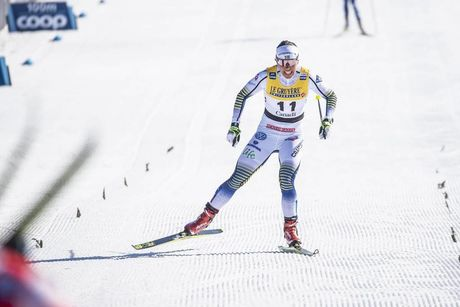 24.03.2019, Quebec, Canada (CAN):Charlotte Kalla (SWE) - FIS world cup cross-country, pursuit women, Quebec (CAN). www.nordicfocus.com. © Modica/NordicFocus. Every downloaded picture is fee-liable.