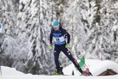 20.01.2018, Antholz, Italy (ITA):Galina Vishnevskaya (KAZ) -  IBU world cup biathlon, pursuit women, Antholz (ITA). www.nordicfocus.com. © Manzoni/NordicFocus. Every downloaded picture is fee-liable.