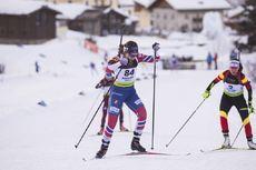 24.01.2018, Ridnaun, Italy (ITA):Lotte Lie (NOR) - IBU Open European championships biathlon, individual women, Ridnaun (ITA). www.nordicfocus.com. © Manzoni/NordicFocus. Every downloaded picture is fee-liable.