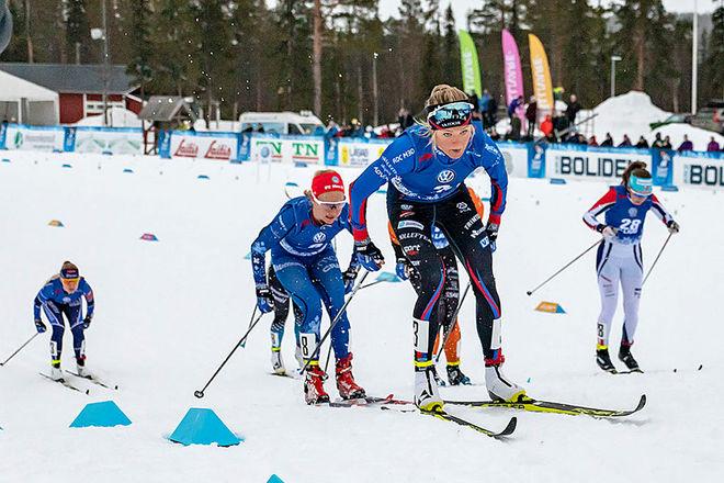 DET BLIR fullt pådrag från SVT när Frida Karlsson & co begår svensk tävlingspremiär i Gällivare 22-24 november. Foto: MICHAEL RENSTRÖM