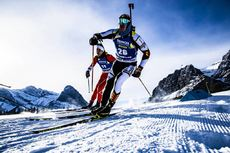 07.02.2019, Canmore, Canada (CAN):Florent Claude (BEL) -  IBU world cup biathlon, short individual men, Canmore (CAN). www.nordicfocus.com. © Manzoni/NordicFocus. Every downloaded picture is fee-liable.