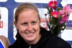 OLIVIA HANSSON, Karlslunds IF var starkast i avslutningen bland damerna. Foto/rights: ROLF ZETTERBERG/kekstock.com