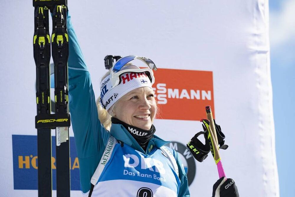 16.02.2019, Soldier Hollow, United States of America (USA):Kaisa Makarainen (FIN) -  IBU world cup biathlon, pursuit women, Soldier Hollow (USA). www.nordicfocus.com. © Manzoni/NordicFocus. Every downloaded picture is fee-liable.