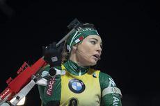 22.12.2018, Nove Mesto, Czech Republic (CZE):Dorothea Wierer (ITA) - IBU world cup biathlon, pursuit women, Nove Mesto (CZE). www.nordicfocus.com. © Manzoni/NordicFocus. Every downloaded picture is fee-liable.
