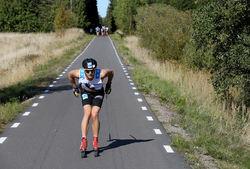 STIAN HOELGAARD satte fart på tävlingen och ryckte ifrån efter Forshaga. Men det höll precis inte för fjolårstvåan som nu blev trea. Foto/rights: KJELL-ERIK KRISTIANSEN/kekstock.com