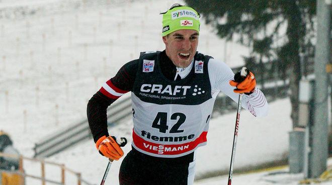 JOHANNES DÜRR på väg mot en sensationell 3:e plats i Tour de Ski 2013/2014. Han togs sedan för EPO-doping under OS i Sochi samma vinter. Nu riskerar han livstids avstängning. Foto/rights: MARCELA HAVLOVA/kekstock.com