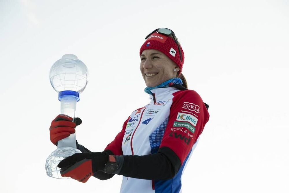 21.03.2019, Oslo, Norway (NOR):Anastasiya Kuzmina (SVK) - IBU world cup biathlon, cups, Oslo (NOR). www.nordicfocus.com. © Manzoni/NordicFocus. Every downloaded picture is fee-liable.