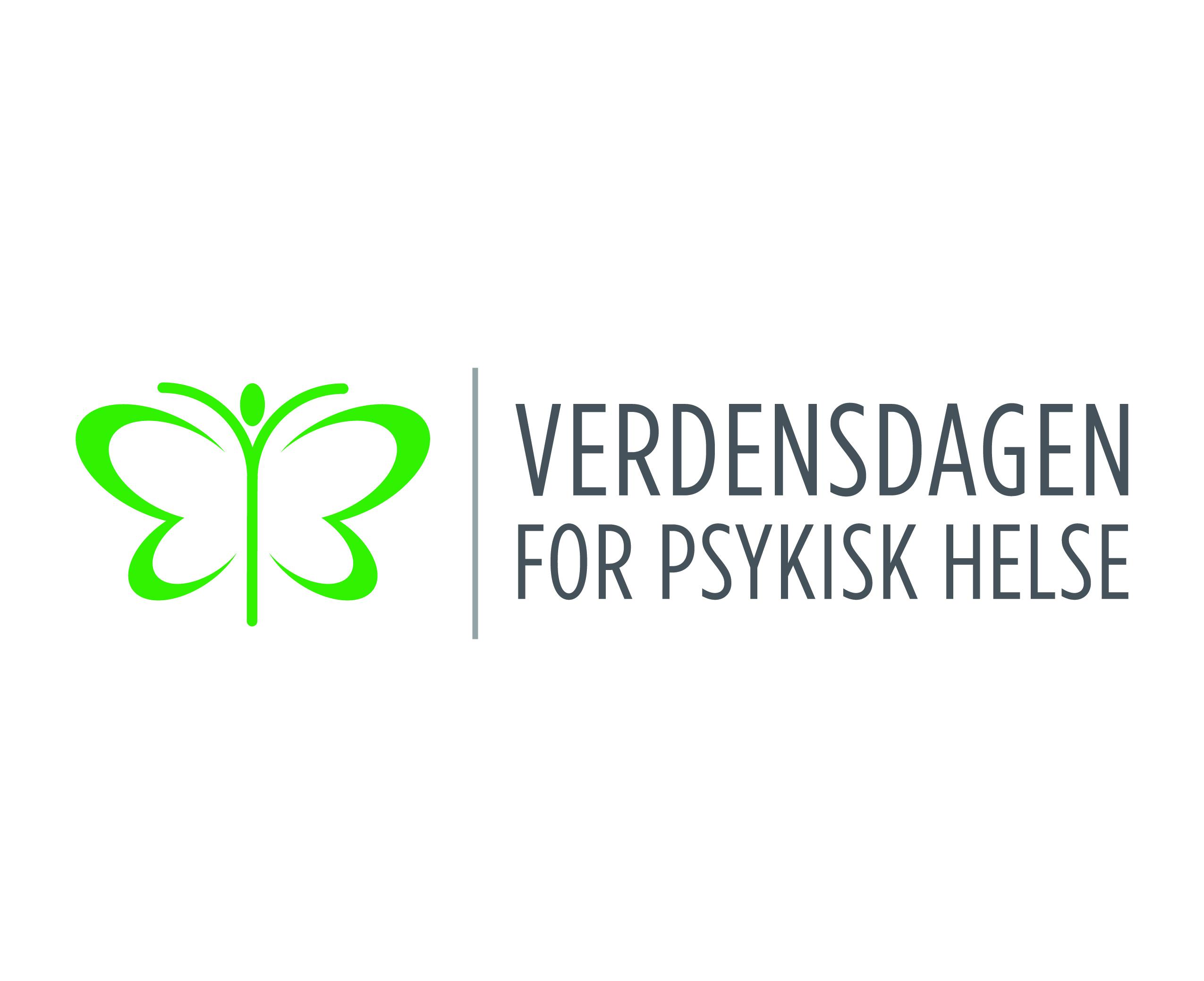 Verdensdagen for psykisk helse logo
