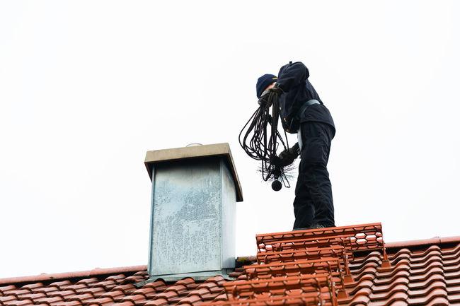 Feier på taket