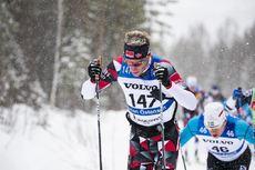 03.03.2019, Mora, Sweden (SWE):Simen Oestensen (NOR) - Visma Ski Classics and FIS Marathon Cup Vasaloppet, Mora (SWE). www.nordicfocus.com. © Manzoni/NordicFocus. Every downloaded picture is fee-liable.