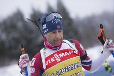 03.01.2018, Oberhof, Germany (GER):Ole Einar Bjoerndalen (NOR) -  IBU world cup biathlon, training, Oberhof (GER). www.nordicfocus.com. © Manzoni/NordicFocus. Every downloaded picture is fee-liable.