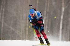13.03.2019, Oestersund, Sweden (SWE):Alexander Loginov (RUS) - IBU world championships biathlon, individual men, Oestersund (SWE). www.nordicfocus.com. © Tumashov/NordicFocus. Every downloaded picture is fee-liable.