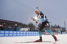 16.03.2019, Oestersund, Sweden (SWE):Martin Fourcade (FRA) - IBU world championships biathlon, relay men, Oestersund (SWE). www.nordicfocus.com. © Tumashov/NordicFocus. Every downloaded picture is fee-liable.