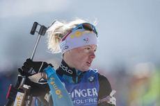 10.02.2017, Hochfilzen, Austria (AUT):Marie Dorin Habert (FRA) - IBU world championships biathlon, sprint women, Hochfilzen (AUT). www.nordicfocus.com. © NordicFocus. Every downloaded picture is fee-liable.