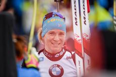 20.01.2019, Ruhpolding, Germany (GER):Anais Bescond (FRA) -  IBU world cup biathlon, mass women, Ruhpolding (GER). www.nordicfocus.com. © Tumashov/NordicFocus. Every downloaded picture is fee-liable.