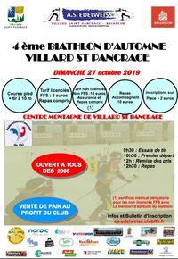Biathlon Villard Saint Pancrace