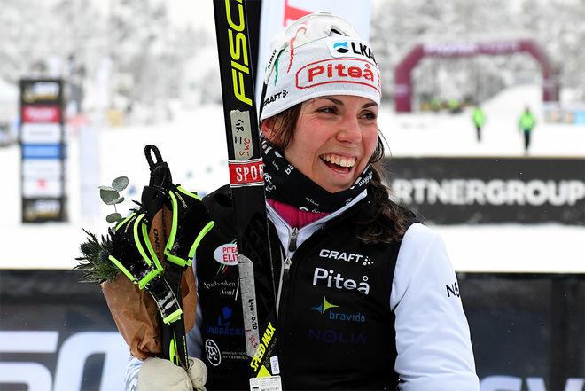 CHARLOTTE KALLA är och blir Piteå Elits starkaste varumärke även om hon fått tuffare motstånd här hemma i Sverige. Foto/rights: ROLF ZETTERBERG/kekstock.com