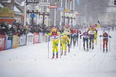 03.03.2019, Mora, Sweden (SWE):Stian Hoelgaard (NOR) - Visma Ski Classics and FIS Marathon Cup Vasaloppet, Mora (SWE). www.nordicfocus.com. © Manzoni/NordicFocus. Every downloaded picture is fee-liable.