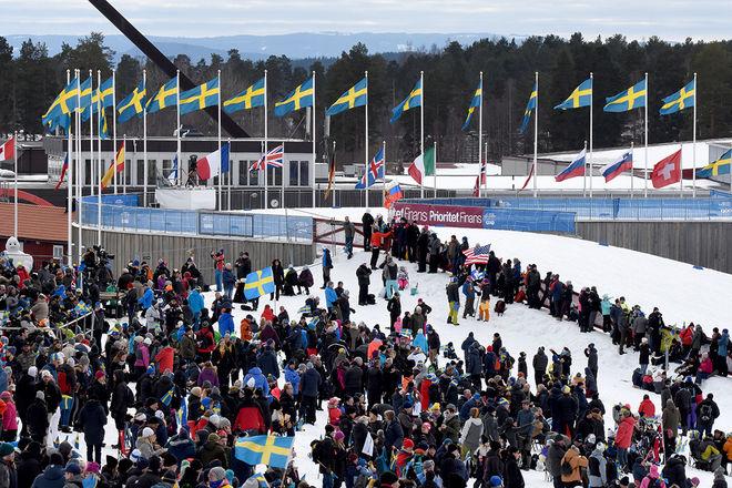 FLERA STORTÄVLINGAR samlas under Kopparskidan på Lugnet i Falun i vinter. Foto/rights: ROLF ZETTERBERG/kekstock.com