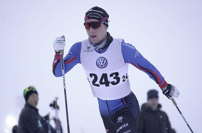 ANTON ERIKSSON har hoppat över 100 meter på skidor, men det blev varken backhoppning eller nordisk kombination för talangen från Forsmo utanför Sollefteå. Foto/rights: TOM-WILLIAM LINDSTRÖM/kekstock.com