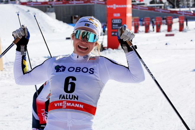 JONNA SUNDLING vann sin första världscuptävling förra säsongen och har varit stjärnan hos IFK Umeå. Nu går hon till tuffaste konkurrenten Piteå Elit. Foto/rights: MARCELA HAVLOVA/kekstock.com