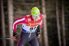 29.12.2018, Toblach, Italy (ITA):Max Hauke (AUT) - FIS world cup cross-country, tour de ski, individual sprint, Toblach (ITA). www.nordicfocus.com. © Modica/NordicFocus. Every downloaded picture is fee-liable.