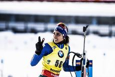 12.03.2019, Oestersund, Sweden (SWE):Lisa Vittozzi (ITA) - IBU world championships biathlon, individual women, Oestersund (SWE). www.nordicfocus.com. © Manzoni/NordicFocus. Every downloaded picture is fee-liable.