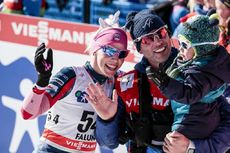 18.03.2018, Falun Sweden (SWE):Kikkan Randall (USA) - FIS world cup cross-country, pursuit women, Falun (SWE). www.nordicfocus.com. © Modica/NordicFocus. Every downloaded picture is fee-liable.