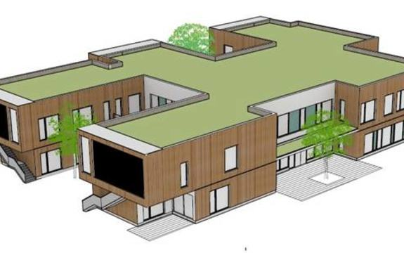 Nordby barnehage illustrasjon