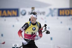 15.02.2019, Soldier Hollow, United States of America (USA):Johannes Thingnes Boe (NOR) -  IBU world cup biathlon, sprint men, Soldier Hollow (USA). www.nordicfocus.com. © Manzoni/NordicFocus. Every downloaded picture is fee-liable.