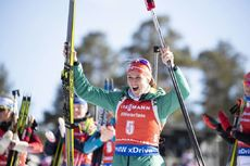 23.03.2019, Oslo, Norway (NOR):Denise Herrmann (GER) - IBU world cup biathlon, pursuit women, Oslo (NOR). www.nordicfocus.com. © Manzoni/NordicFocus. Every downloaded picture is fee-liable.