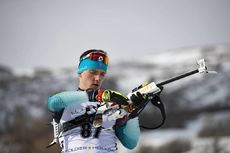 15.02.2019, Soldier Hollow, United States of America (USA):Fabien Claude (FRA) -  IBU world cup biathlon, sprint men, Soldier Hollow (USA). www.nordicfocus.com. © Manzoni/NordicFocus. Every downloaded picture is fee-liable.