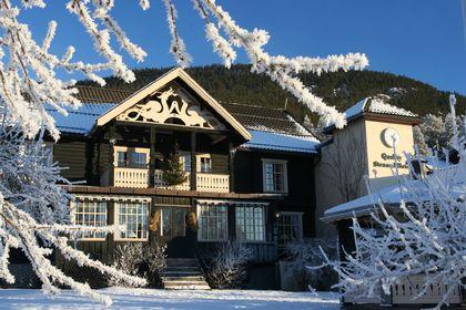 Straand Hotell vinter