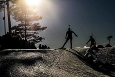 21.03.2019, Oslo, Norway (NOR):Event Feature: undefined skier competes on the track - IBU world cup biathlon, sprint women, Oslo (NOR). www.nordicfocus.com. © Manzoni/NordicFocus. Every downloaded picture is fee-liable.