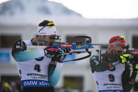 26.01.2019, Antholz, Italy (ITA):Martin Fourcade (FRA) -  IBU world cup biathlon, pursuit men, Antholz (ITA). www.nordicfocus.com. © Manzoni/NordicFocus. Every downloaded picture is fee-liable.