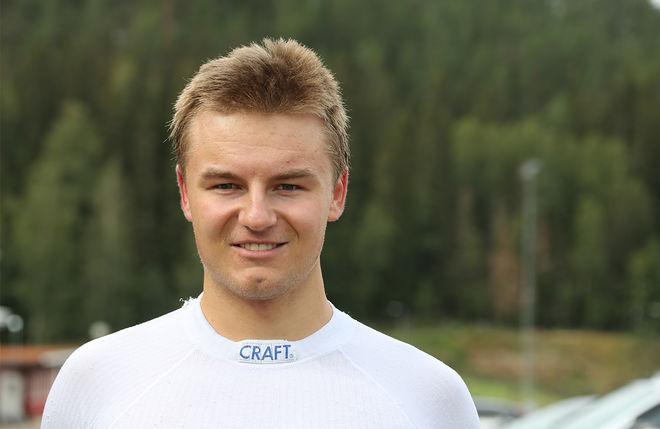 SIMON KARLSSON, IFK Umeå är en vindsnabb sprinter som nu också satsar på resultat på distans. Foto/rights: KJELL-ERIK KRISTIANSEN/kekstock.com