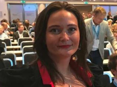 Kristine Aasen leder Altinndagen i 2018. Foto: Brønnøysundregistrene.