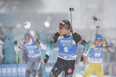 17.03.2019, Oestersund, Sweden (SWE):Quentin Fillon Maillet (FRA) - IBU world championships biathlon, mass men, Oestersund (SWE). www.nordicfocus.com. © Tumashov/NordicFocus. Every downloaded picture is fee-liable.
