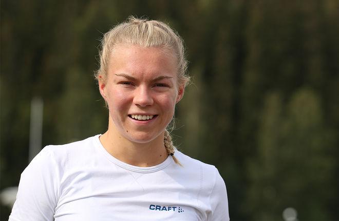 MOA HANSSON är segermaskinen från Småland som haft problem med körtelfeber under sommaren. Foto/rights: KJELL-ERIK KRISTIANSEN/kekstock.com