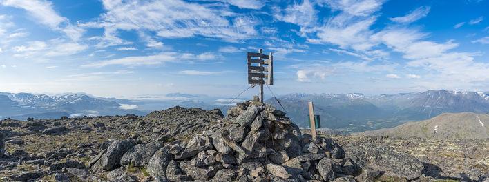 Storesteet mot Reisa foto Ørjan Bertelen