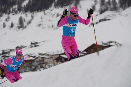 30.11.2018, Livigno, Italy (ITA):Jan Srail (CZE), Alexis Jeannerod (FRA), (l-r)  - Visma Ski Classics La Sgambeda, Pro Team Prologue, Livigno (ITA). www.nordicfocus.com. © Rauschendorfer/NordicFocus. Every downloaded picture is fee-liable.