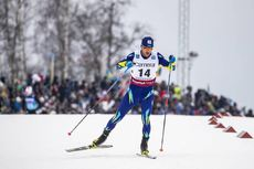 26.01.2019, Ulricehamn, Sweden (SWE):Vitaliy Pukhkalo (KAZ) - FIS world cup cross-country, 15km men, Ulricehamn (SWE). www.nordicfocus.com. © Modica/NordicFocus. Every downloaded picture is fee-liable.