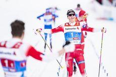 24.02.2019, Seefeld, Austria (AUT):Johannes Hoesflot Klaebo (NOR) - FIS nordic world ski championships, cross-country, team sprint, Seefeld (AUT). www.nordicfocus.com. © Modica/NordicFocus. Every downloaded picture is fee-liable.
