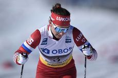 10.03.2019, Oslo, Norway (NOR):Natalia Nepryaeva (RUS) - FIS world cup cross-country, mass women, Oslo (NOR). www.nordicfocus.com. © Thibaut/NordicFocus. Every downloaded picture is fee-liable.