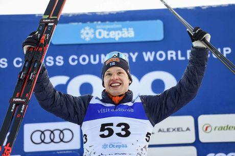 20.01.2019, Otepaeae, Estonia (EST):Iivo Niskanen (FIN) - FIS world cup cross-country, 15km men, Otepaeae (EST). www.nordicfocus.com. © Thibaut/NordicFocus. Every downloaded picture is fee-liable.