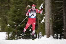 30.12.2018, Toblach, Italy (ITA):Sergey Ustiugov (RUS) - FIS world cup cross-country, tour de ski, 15km men, Toblach (ITA). www.nordicfocus.com. © Modica/NordicFocus. Every downloaded picture is fee-liable.